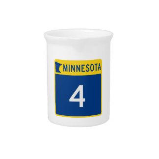 Minnesota-Staats-Landstraße 4 Getränke Pitcher