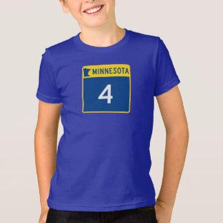 Minnesota-Staats-Landstraße 4 T-Shirt
