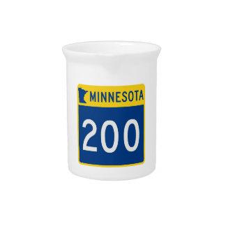 Minnesota-Stamm-Landstraße 200 Getränke Pitcher
