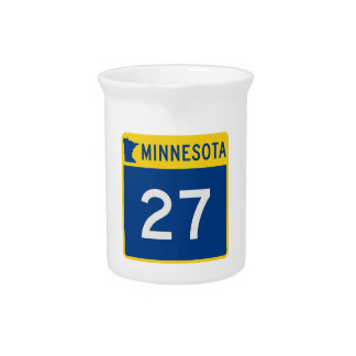 Minnesota-Stamm-Landstraße 27 Getränke Pitcher