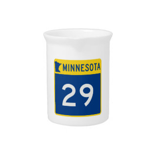 Minnesota-Stamm-Landstraße 29 Getränke Pitcher