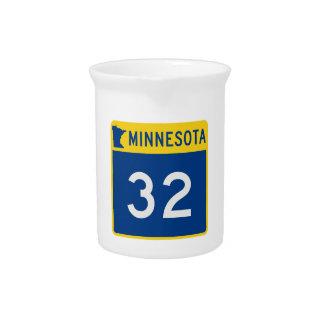 Minnesota-Stamm-Landstraße 32 Getränke Pitcher
