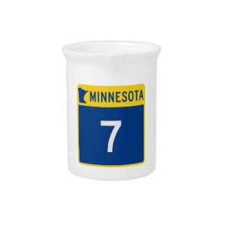 Minnesota-Stamm-Landstraße 7 Getränke Pitcher