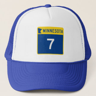 Minnesota-Stamm-Landstraße 7 Truckerkappe