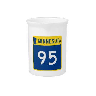 Minnesota-Stamm-Landstraße 95 Getränke Pitcher