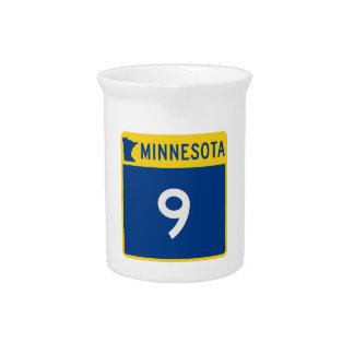 Minnesota-Stamm-Landstraße 9 Getränke Pitcher