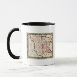 Minnesota und Dacotah Tasse