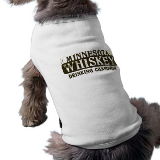 Minnesota-Whisky-trinkender Meister T-Shirt