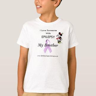 minnie, lila Band, i-Liebe jemand, mit T-Shirt