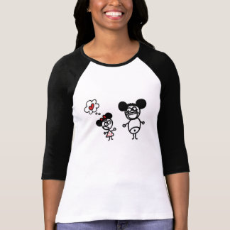 Minnie Mickey Liebe-T - Shirt