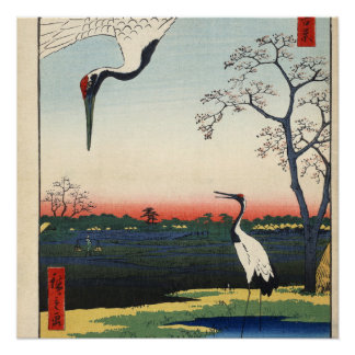 Minowa, Kanasugi, Mikawashima. Poster