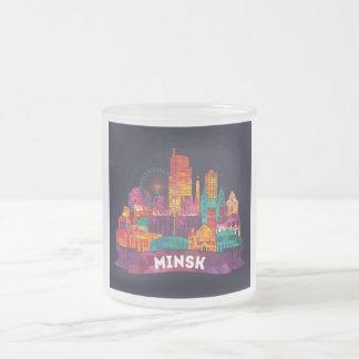 Minsk - Reise zu den berühmten Sehenswürdigkeiten Mattglastasse