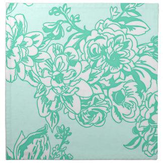 Minze blüht Blumenfrühlings-und Sommer-Serviette Serviette