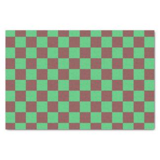 Minze und Schokolade Seidenpapier