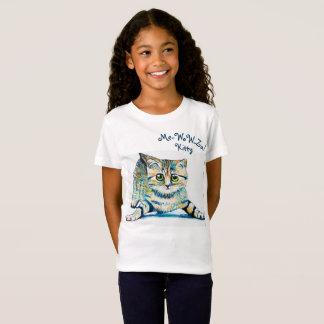 Mir-Wow-Za! Kitty-Mädchen-Shirt T-Shirt