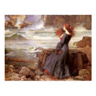 Miranda - der Sturm Postkarte