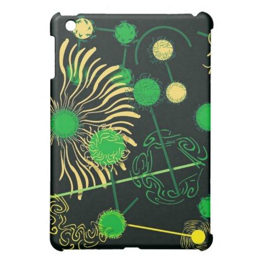 Miro-inspirierte Zazzle Haut iPad Mini Hülle