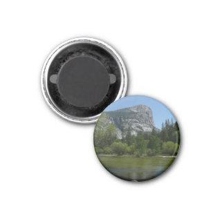 Mirror See II in Yosemite Nationalpark Runder Magnet 3,2 Cm