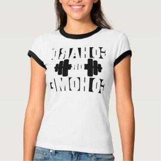 Mirror T-Shirt. Go Hard or Go Home, Female - T-Shirt