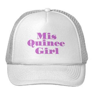 Mis-Quitten-Mädchen Baseballkappe