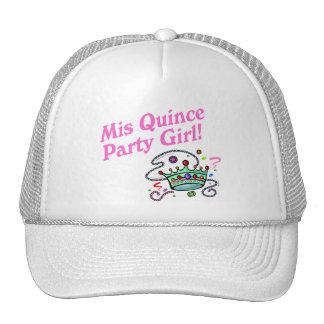 Mis-Quitten-Party-Mädchen Truckermützen