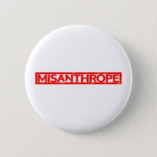 Misanthrope-Briefmarke Runder Button 5,1 Cm