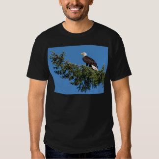 Miscellaneous - Bald Eagle & Pine Tree Pattern Hemden