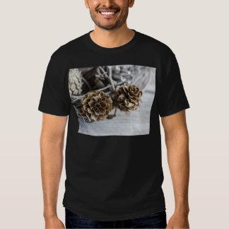Miscellaneous - Winter Pine Cones Patterns Four T Shirt
