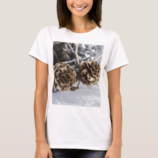 Miscellaneous - Winter Pine Cones Patterns Four T-Shirt