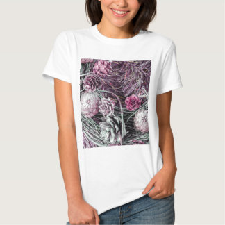 Miscellaneous - Winter Pine Cones Patterns One T Shirt
