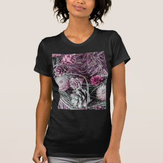 Miscellaneous - Winter Pine Cones Patterns One T-shirt