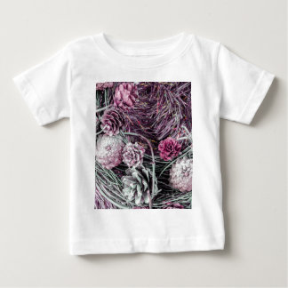 Miscellaneous - Winter Pine Cones Patterns One T Shirts