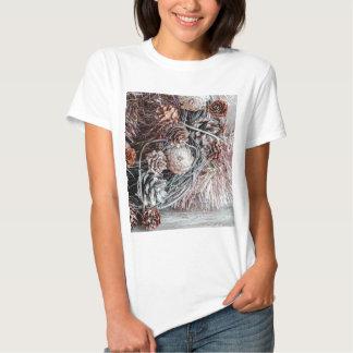 Miscellaneous - Winter Pine Cones Patterns Six T Shirt