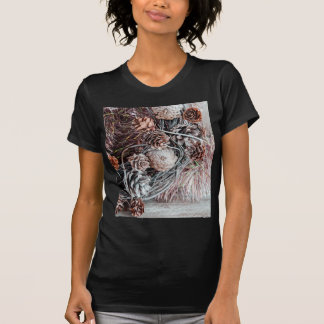 Miscellaneous - Winter Pine Cones Patterns Six T-Shirts