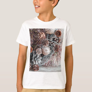 Miscellaneous - Winter Pine Cones Patterns Six Tshirt
