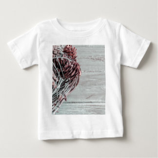 Miscellaneous - Winter Pine Cones Patterns Three Tshirts