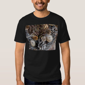 Miscellaneous - Winter Pine Cones Patterns Two Shirt