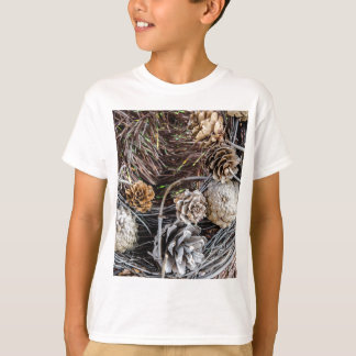 Miscellaneous - Winter Pine Cones Patterns Two T-Shirt