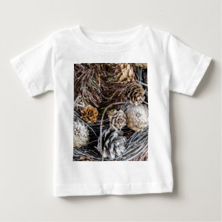 Miscellaneous - Winter Pine Cones Patterns Two T Shirts