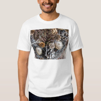 Miscellaneous - Winter Pine Cones Patterns Two Tshirt