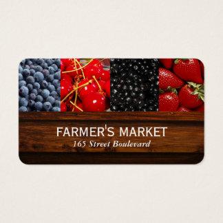 Mischbeeren-/Bauers-Markt Visitenkarte
