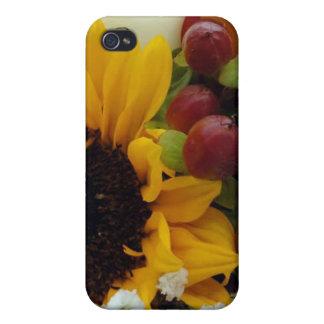 MischBlumen-Blumenstrauß iPhone 4/4S Cover