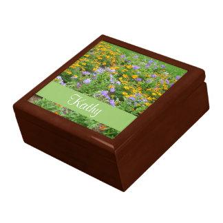 MischBlumen-Geschenkboxen Große Quadratische Schatulle
