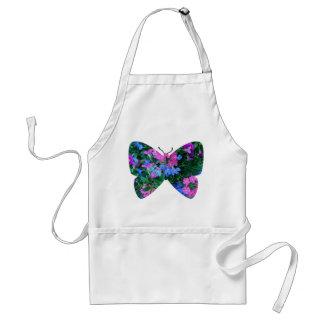 MischBlumen-Schmetterlings-Schürze Schürze