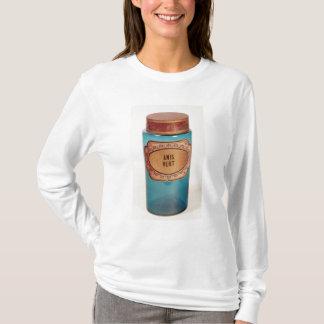 Mischen Sie Glas, mit Aufkleber für Anis Vert, T-Shirt