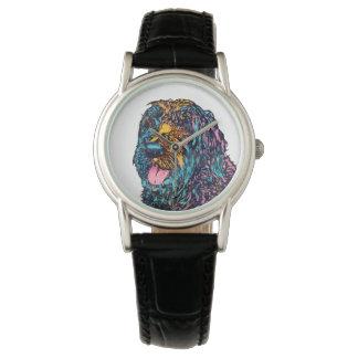 Mischzucht-Hund Armbanduhr