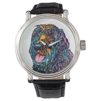 Mischzucht-Hund Uhr