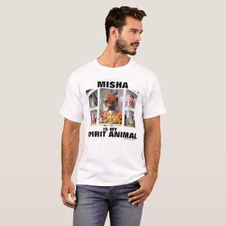Misha ist mein Geist-Tier T-Shirt