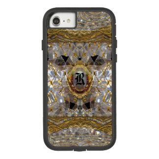 Mishya barockes einzigartiges Monogramm Case-Mate Tough Extreme iPhone 8/7 Hülle
