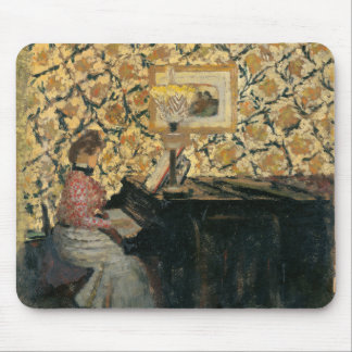 Misia am Klavier Mousepad